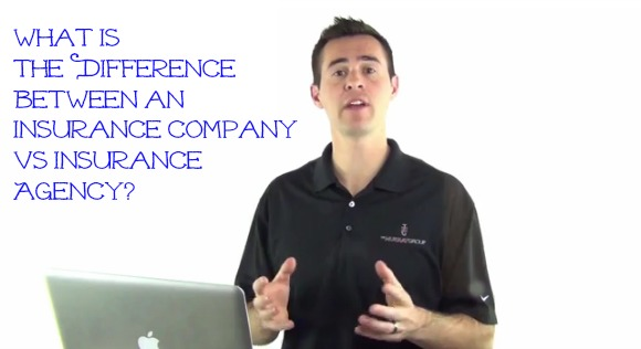 What is the difference between an insurance company vs insurance agency