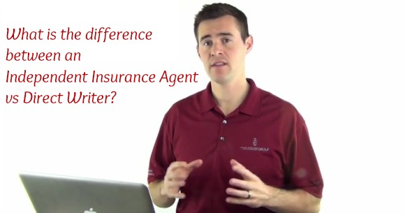 What is the difference between an independent insurance agent vs direct writer