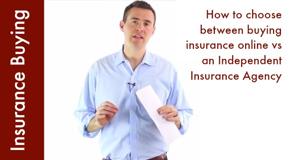 buying insurance online vs independent agent