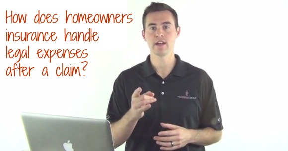 how does homeowners insurance handle legal expenses after a claim