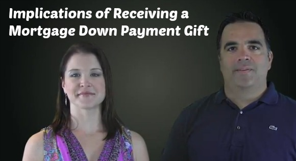 mortgage down payment gift