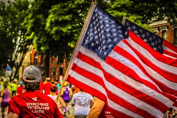 team rwb american flag
